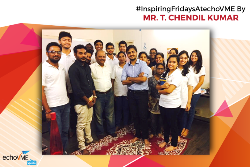 Inspiring Friday Session with Mr. T. Chendil Kumar