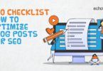 Seo checklist for Blog