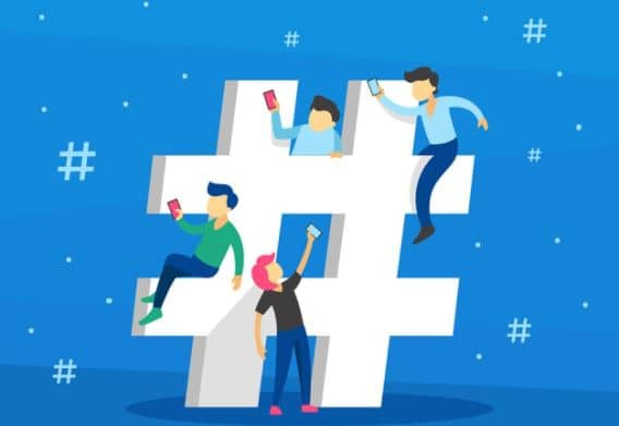 Give importance to Hashtags - Tips to Increase Website Traffic