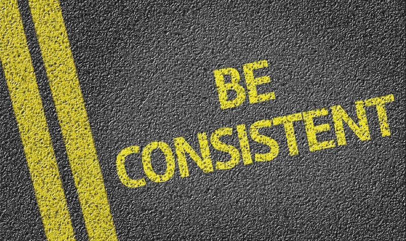 Maintain Consistency - Tips to Increase Website Traffic