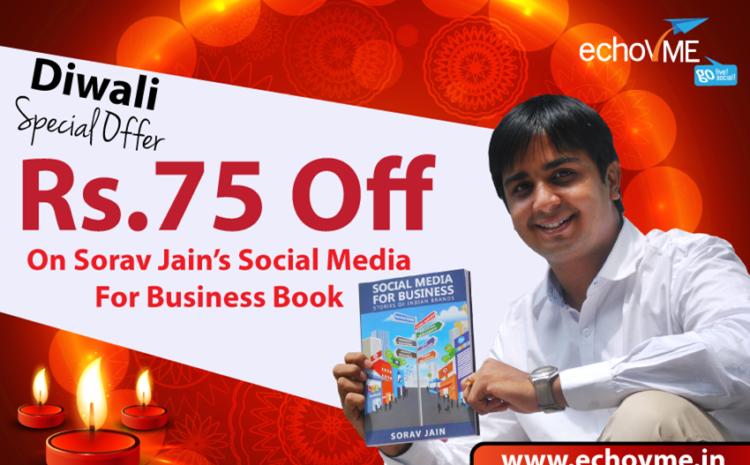 Exclusive Diwali Offer on Sorav Jain's Social Media for Business!