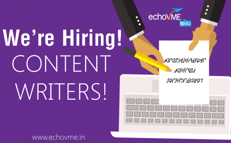 Hiring Content Writers!