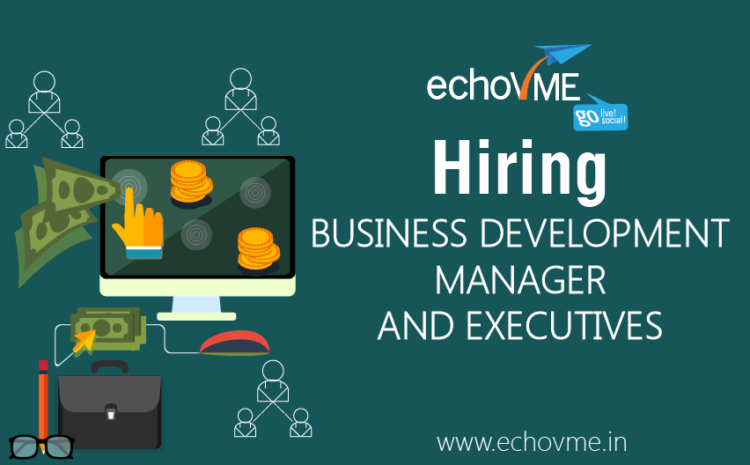 We're Hiring Business Development Manager and Executives!