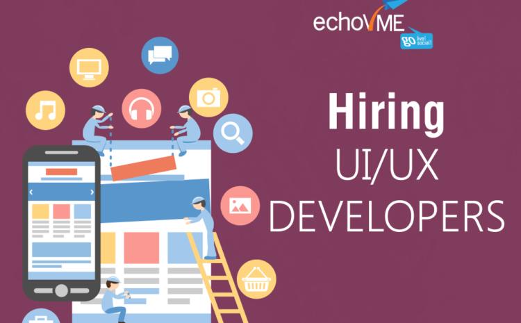 Opening for UI Designer/ Developer