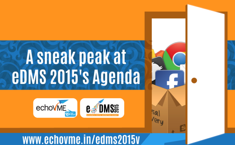 A sneak peak at eDMS 2015's agenda