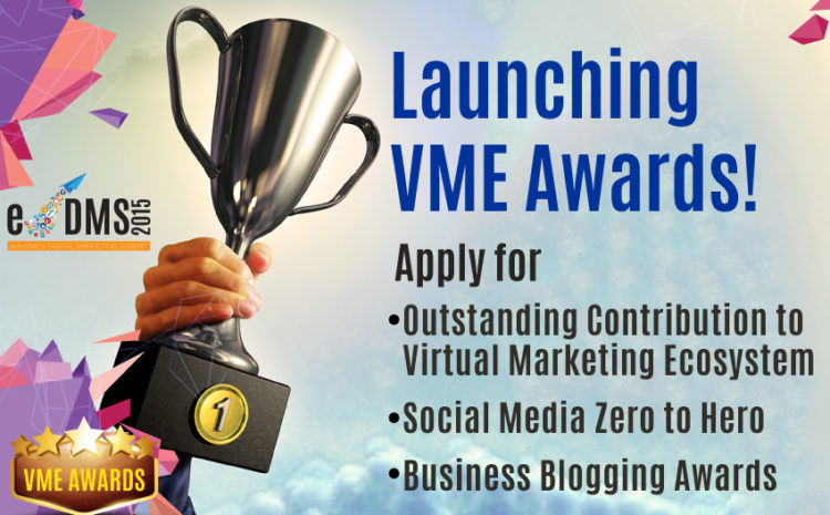 Launching VME Awards – Nominate Yourself & Get Recognized!