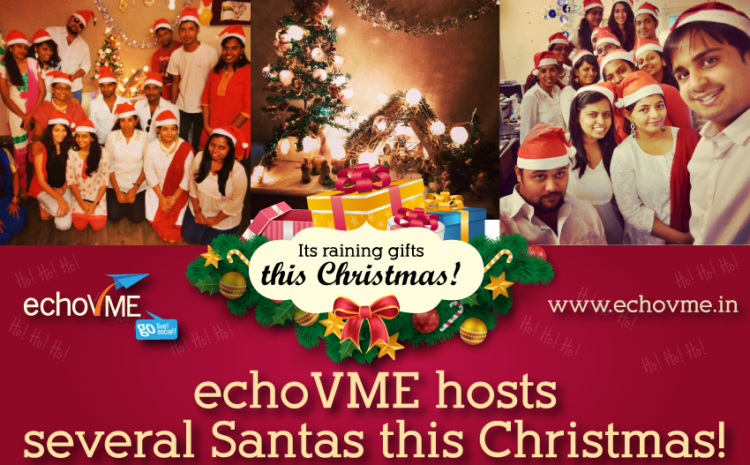 echoVME Hosts Several Santas this Christmas!