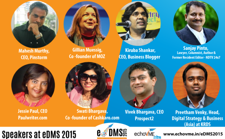 Launching echoVME's Digital Marketing Summit 2015 in Chennai – Only 100 Seats Available!