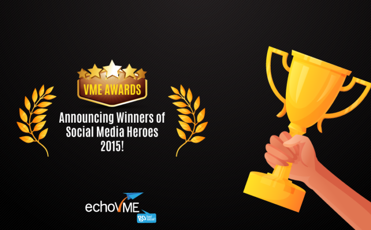 Hurray! We Have Our Social Media Heroes!