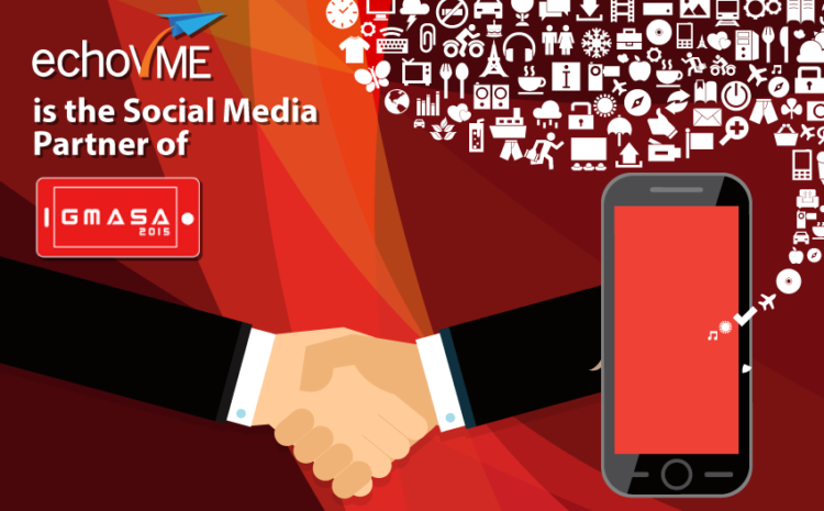 We're the Official Social Media Partners of GMASA 2015!