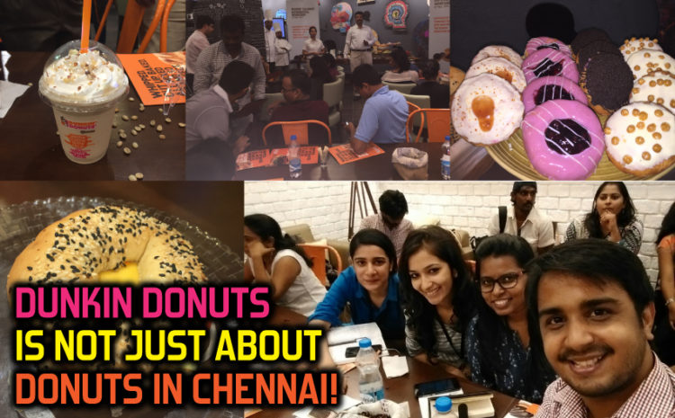 Dunkin' Donuts is not just about donuts!
