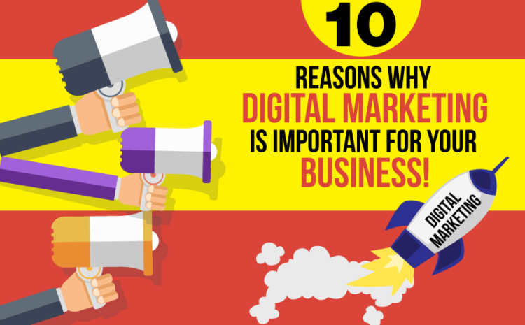 10 Reasons Why Digital Marketing is Important for Business!
