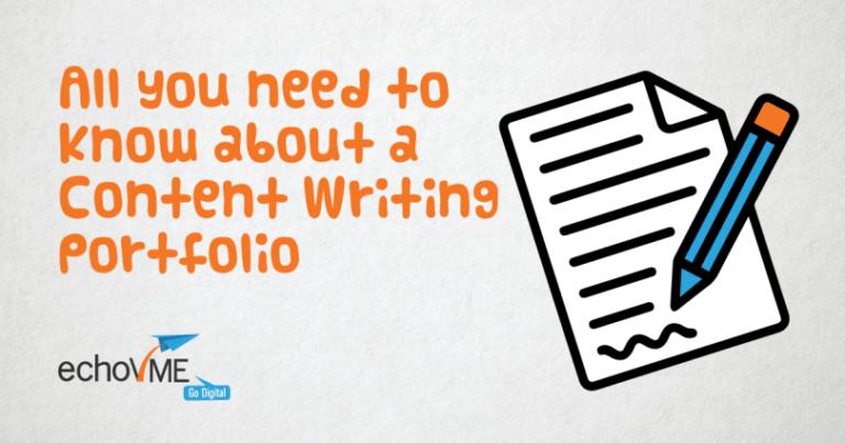 Content Writing Portfolio - echoVME Digital
