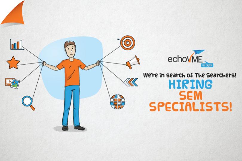 Hiring Senior SEM / Google Ads Specialist at echoVME Chennai