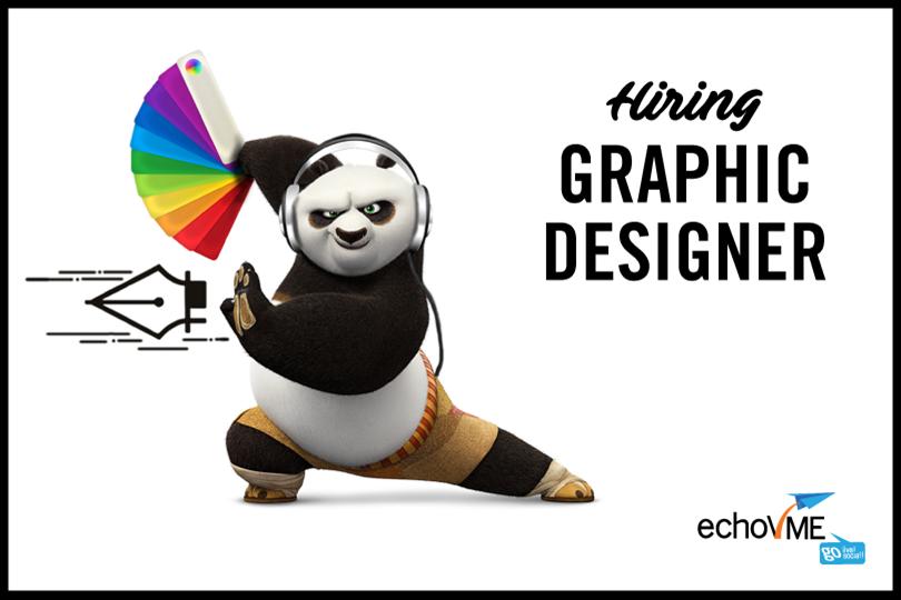 Hiring Web & Graphic Designer at echoVME!