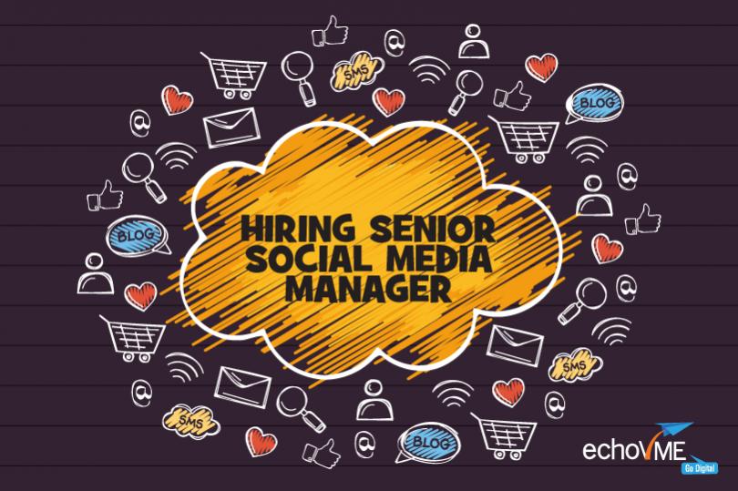 Hiring Senior Social Media Manager, Chennai – Digital Marketing Agency
