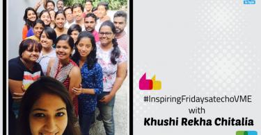 Inspiring Friday Session with Khushi Rekha Chitalia, Choreographer