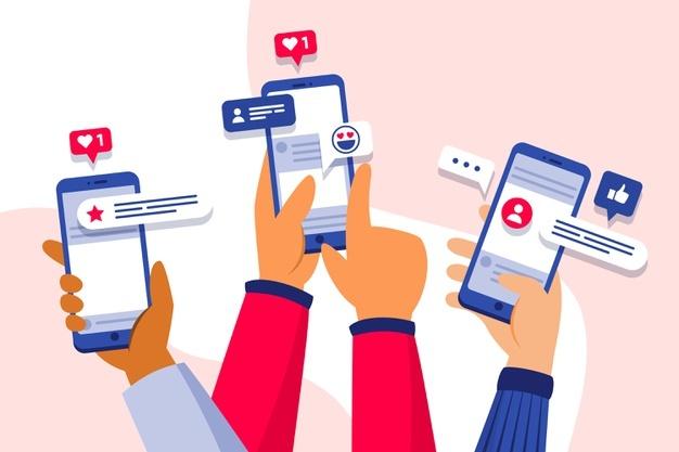 Go on social media - Digital Marketing Strategies For FMCG